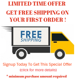 Signup and get free shipping.
